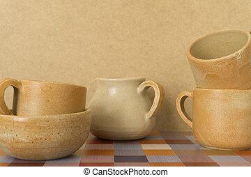 ceramic clay pottery