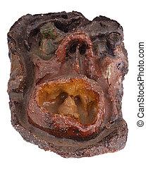 Ceramic face 2