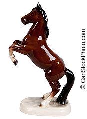 ceramic figurine of a horse