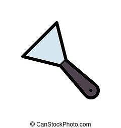ceramic flat color icon
