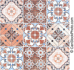 Ceramic Floor and Wall Tile background building construction material.