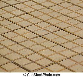 Ceramic floor texture