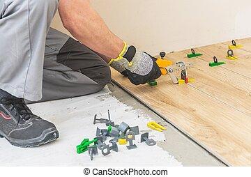 Floor Tiles Installation