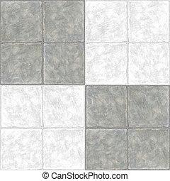 Ceramic Flooring Tiles as Seamless Marble