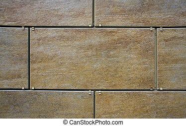 Ceramic granite wall tiling
