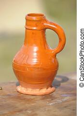 Ceramic jug retro