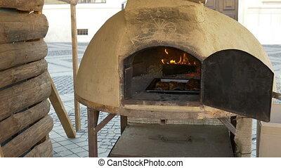 Ceramic Large Bread Oven - Traditional large ceramic built...