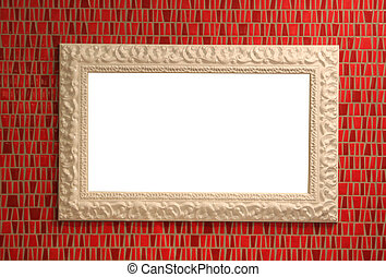 ceramic mirror frame