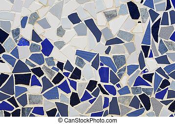 ceramic mosaic wall