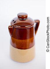 Ceramic Pepper Shaker - A traditional ceramic pepper shaker