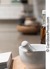Ceramic Pestle & Mortar