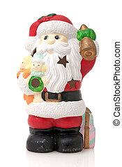 Ceramic Santa Claus