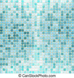 Ceramic Texture - Mosaic Ceramic Tile Texture illustration