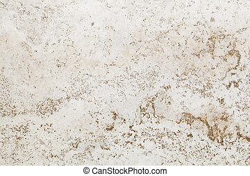 texture background of white ceramic floor or wall tile with random beige and brown pattern