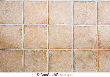 Cermic tile floor or wall texture