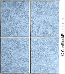 Elegant textured gray ceramic tiles background image