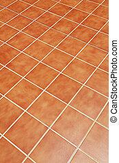 ceramic tiles on the floor