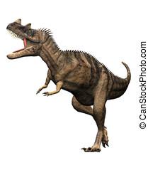 Ceratosaurus Dinosaur Attack - Ceratosaurus dinosaur full...