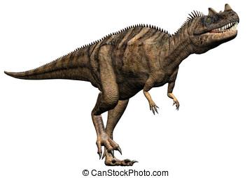 Ceratosaurus Dinosaur Running - Ceratosaurus dinosaur...