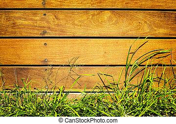 cerca de madera