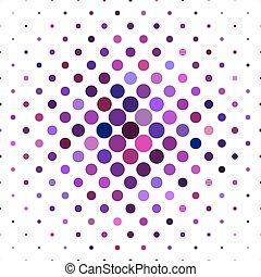 cerchi, grafico, viola, modello, -, vettore, fondo, puntino