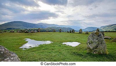 cerchio pietra, castlerigg
