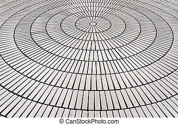 cerchio, tegole