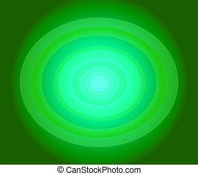 cercle, arrière-plan vert