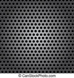 cercle, métal, seamless, texture, surface