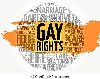 cercle, mot, gay, nuage, droits