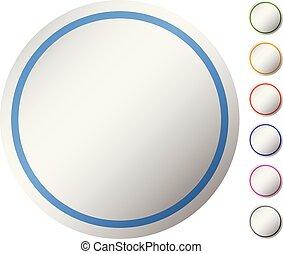 cercle, vide, vide