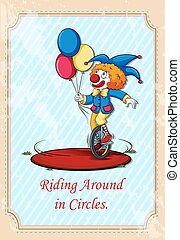 cercles, équitation, autour de