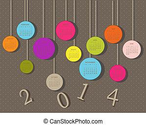 cercles, 2014, année civile