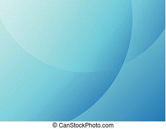 cercles, bleu, voile de surface, simple, résumé, moderne, élégant, arrière-plan., couleur, minimal
