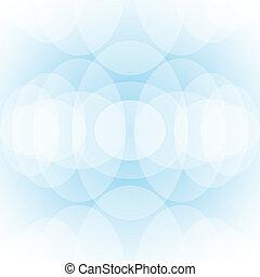 cercles, clair, fond