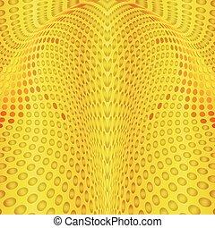 cercles, or, fond, résumé
