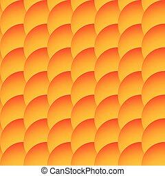 cercles, seamless, chevaucher, arrière-plan., circles., modèle, monochrome, ombragé