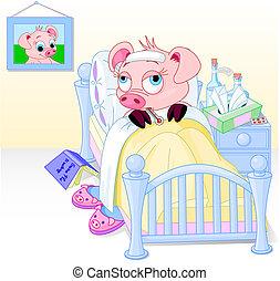 cerdos, gripe