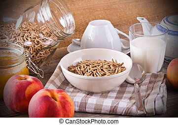 cereal., śniadanie