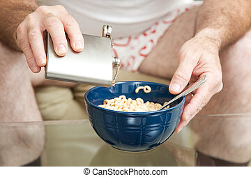 Cereal with Booze