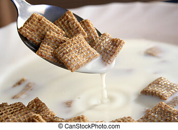 cereal with milk