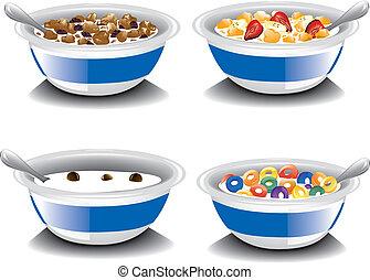 cereale, assortito