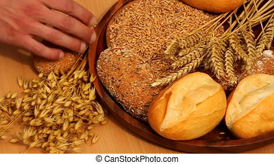 cereals - bread and grain