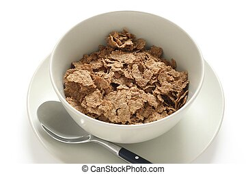 Cereals in bowls