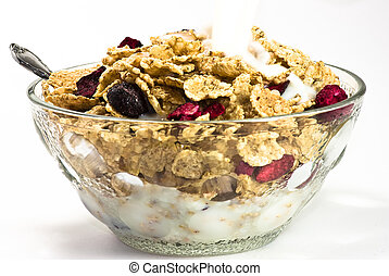 Cereals whith milk
