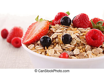 cereals with berry fruit