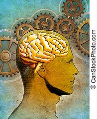 cerebro pensador