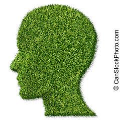 cerebro, salud, y, memoria, función