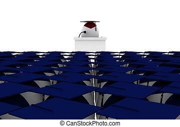 ceremon, graduación