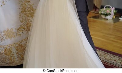 ceremonia, ślub, kościół